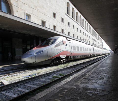 Arrivare a Roma con il treno